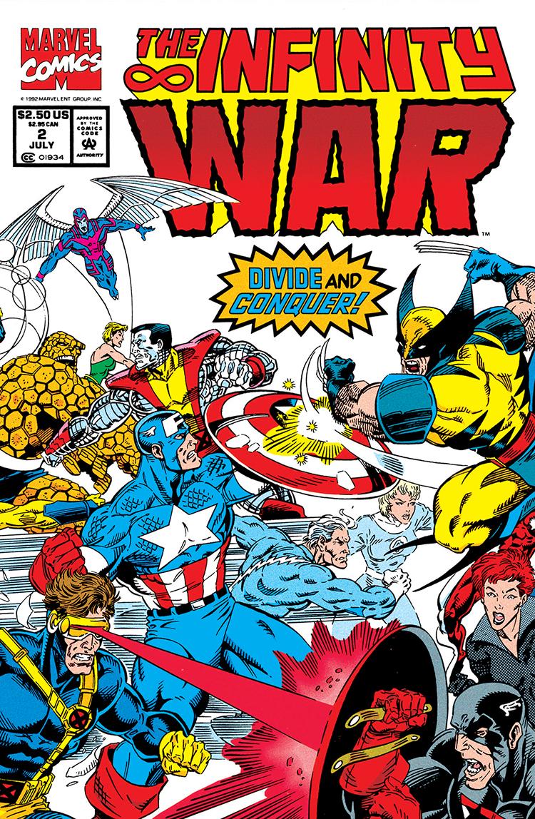 Infinity War (1992) #2