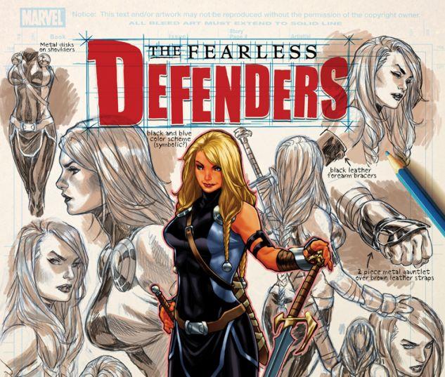 FEARLESS DEFENDERS 8 (NOW, WITH DIGITAL CODE)