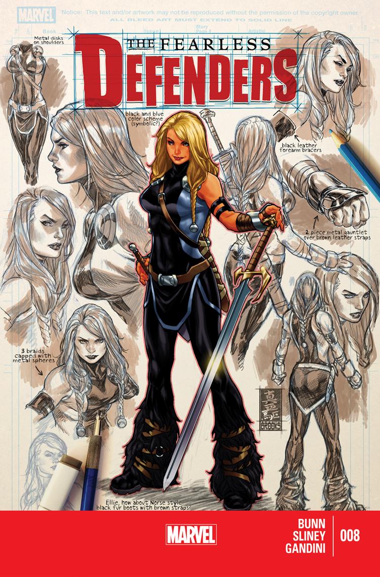 Fearless Defenders (2013) #8