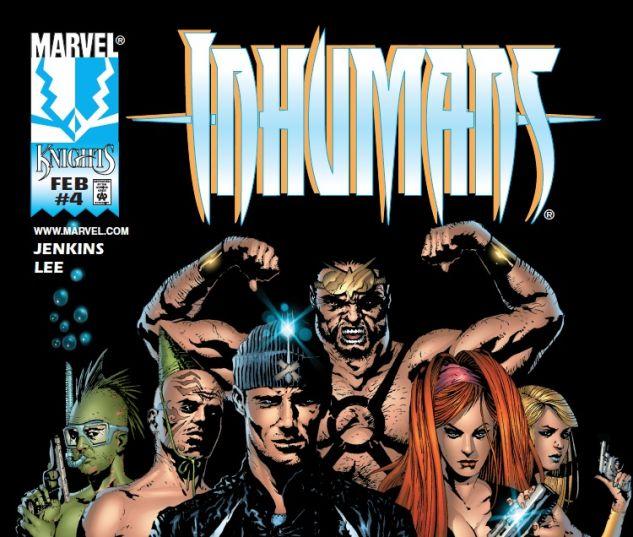 Inhumans (1998) #4