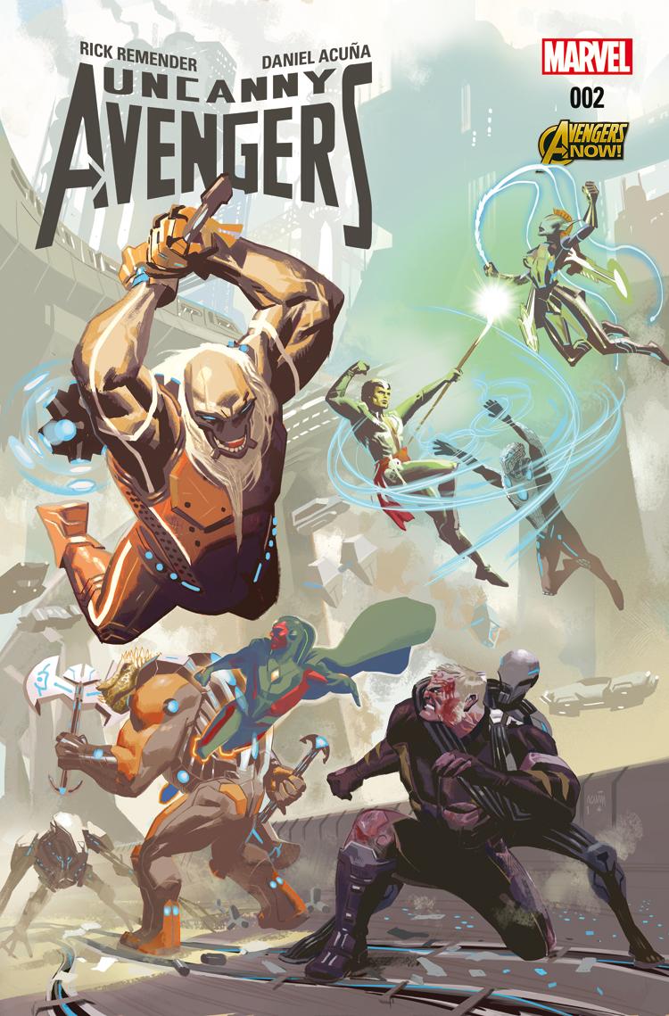 Uncanny Avengers (2015) #2