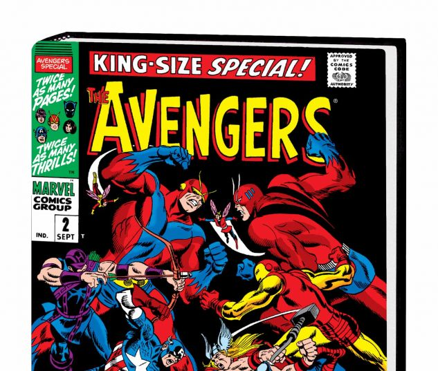 THE AVENGERS OMNIBUS VOL. 2 HC BUSCEMA COVER (DM ONLY)