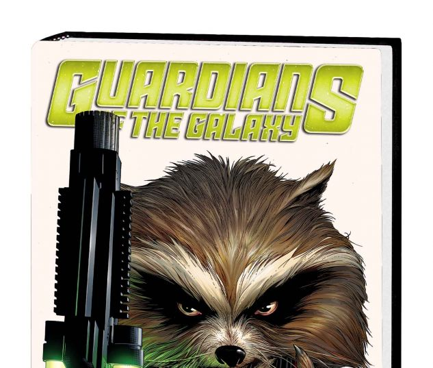 GUARDIANS OF THE GALAXY VOL. 1 HC MOVIE COVER