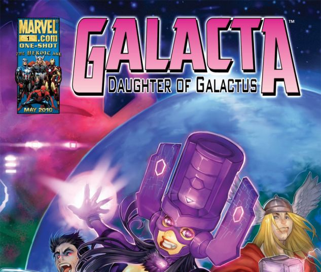 Galacta: Daughter of Galactus One-Shot (2010)