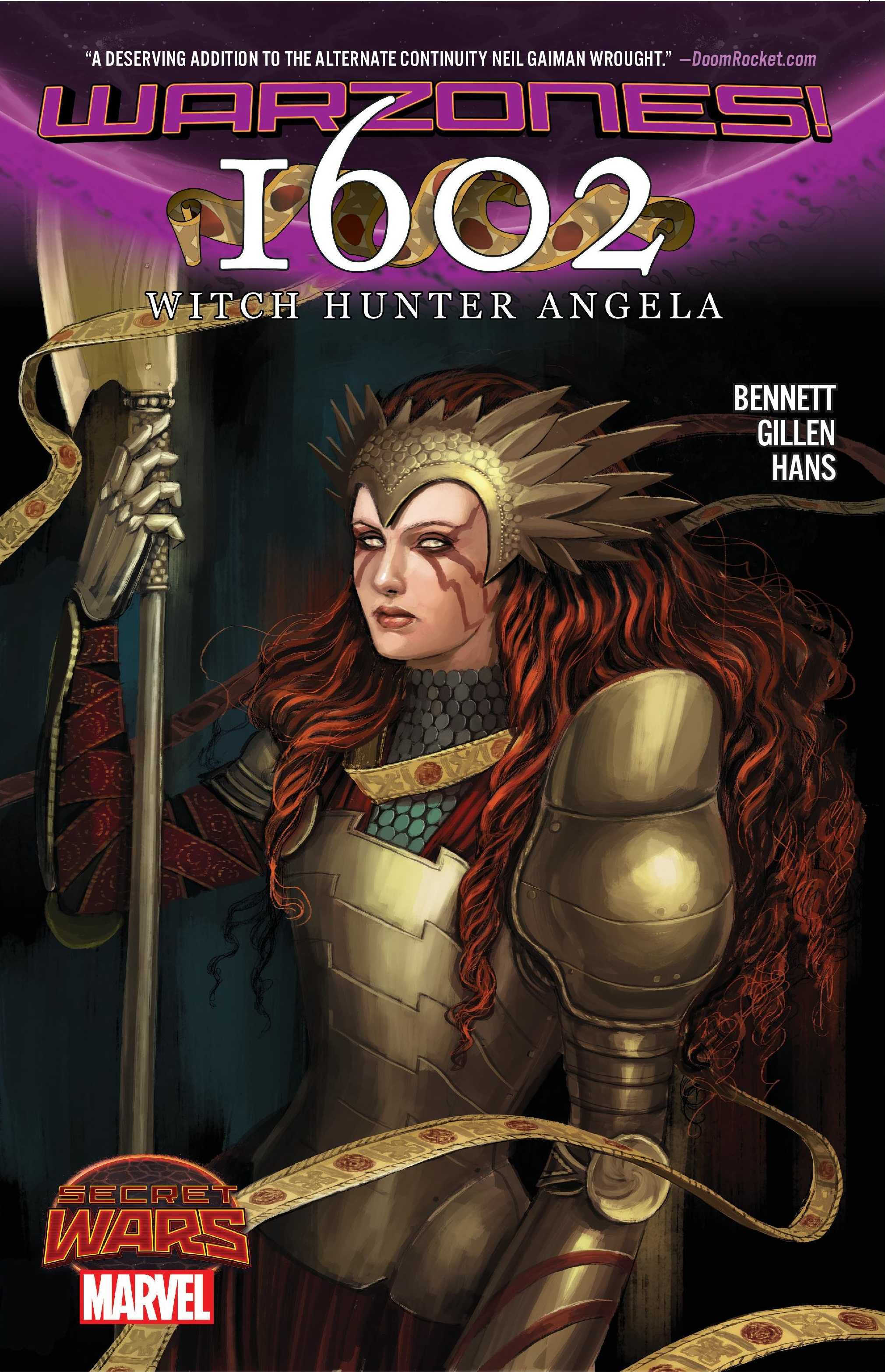 1602 Witch Hunter Angela (Trade Paperback)