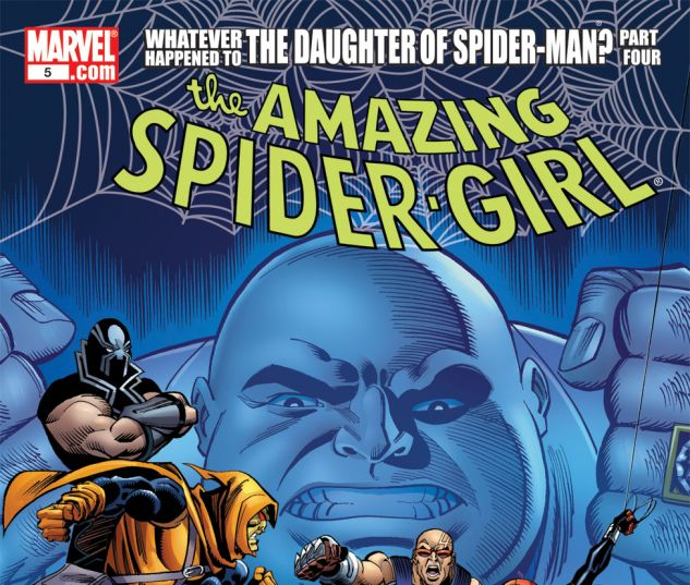 AMAZING SPIDER-GIRL (2006) #5 Cover