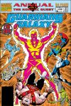 cover to Guardians of the Galaxy Annual (1991)