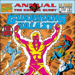 Guardians of the Galaxy Annual