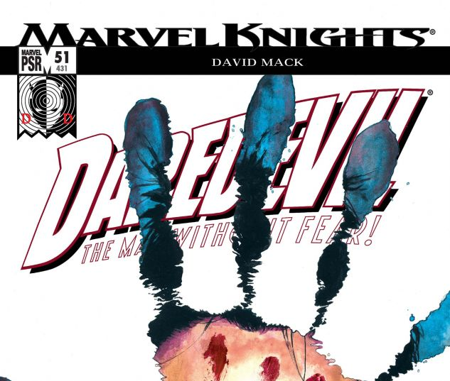 DAREDEVIL (1998) #51 Cover