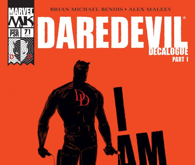 DAREDEVIL (1998) #71 Cover