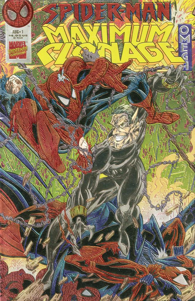 Spider-Man: Maximum Clonage Omega (1995) #1