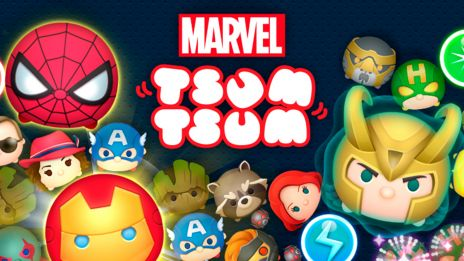 Marvel Tsum Tsum Coming 2016