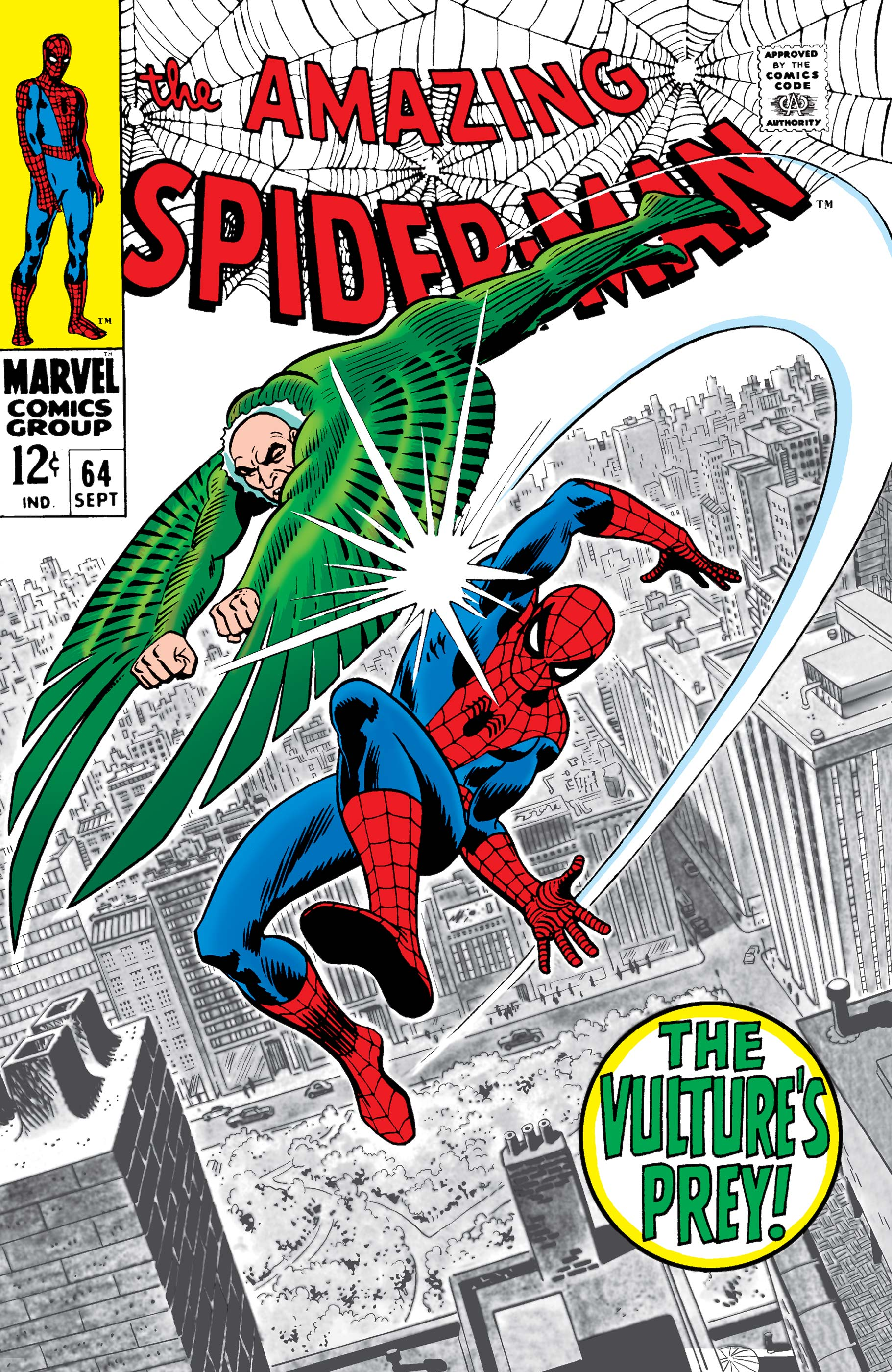 The Amazing Spider-Man (1963) #64