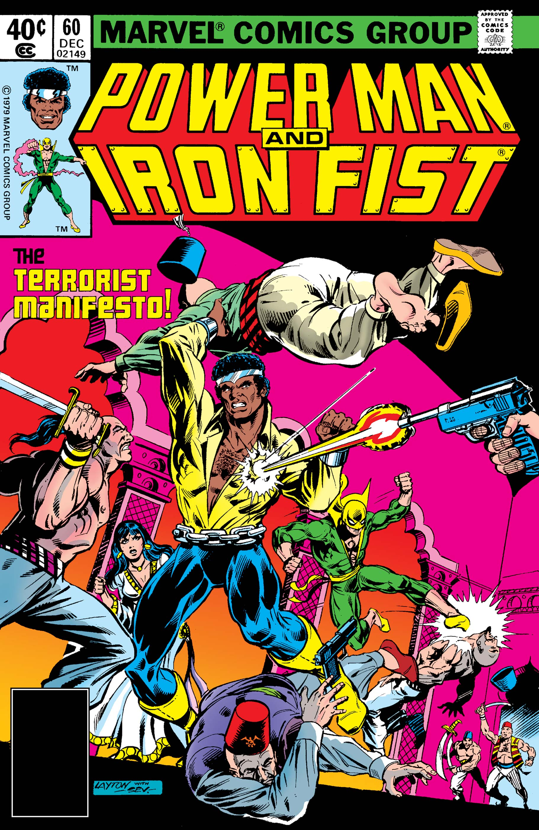 Power Man and Iron Fist (1978) #60