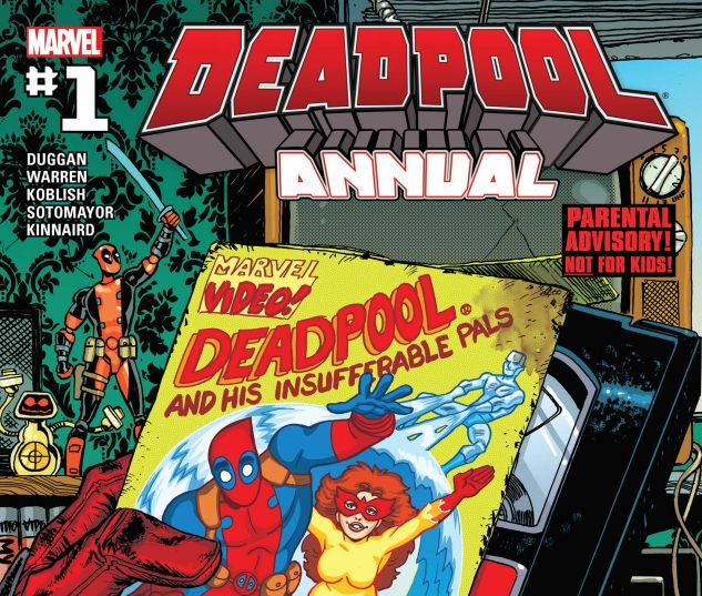 cover from Deadpool Annual (2016) #1