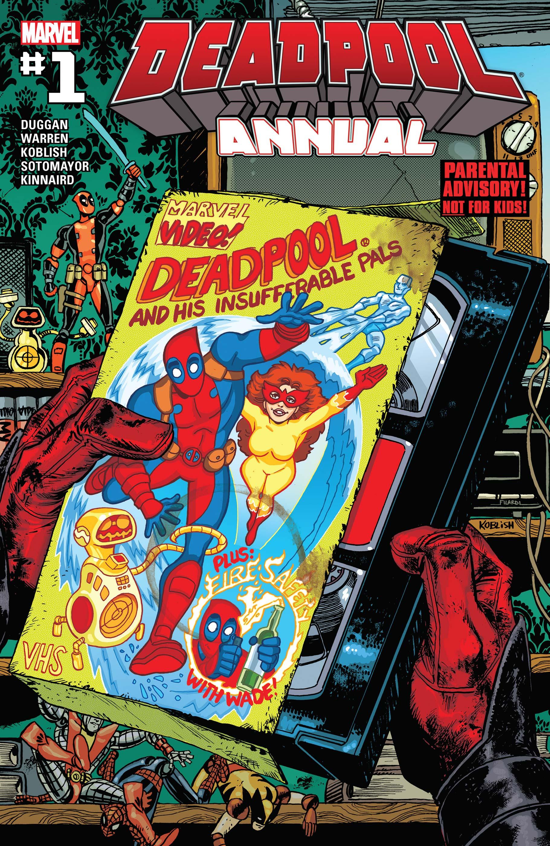Deadpool Annual (2016) #1