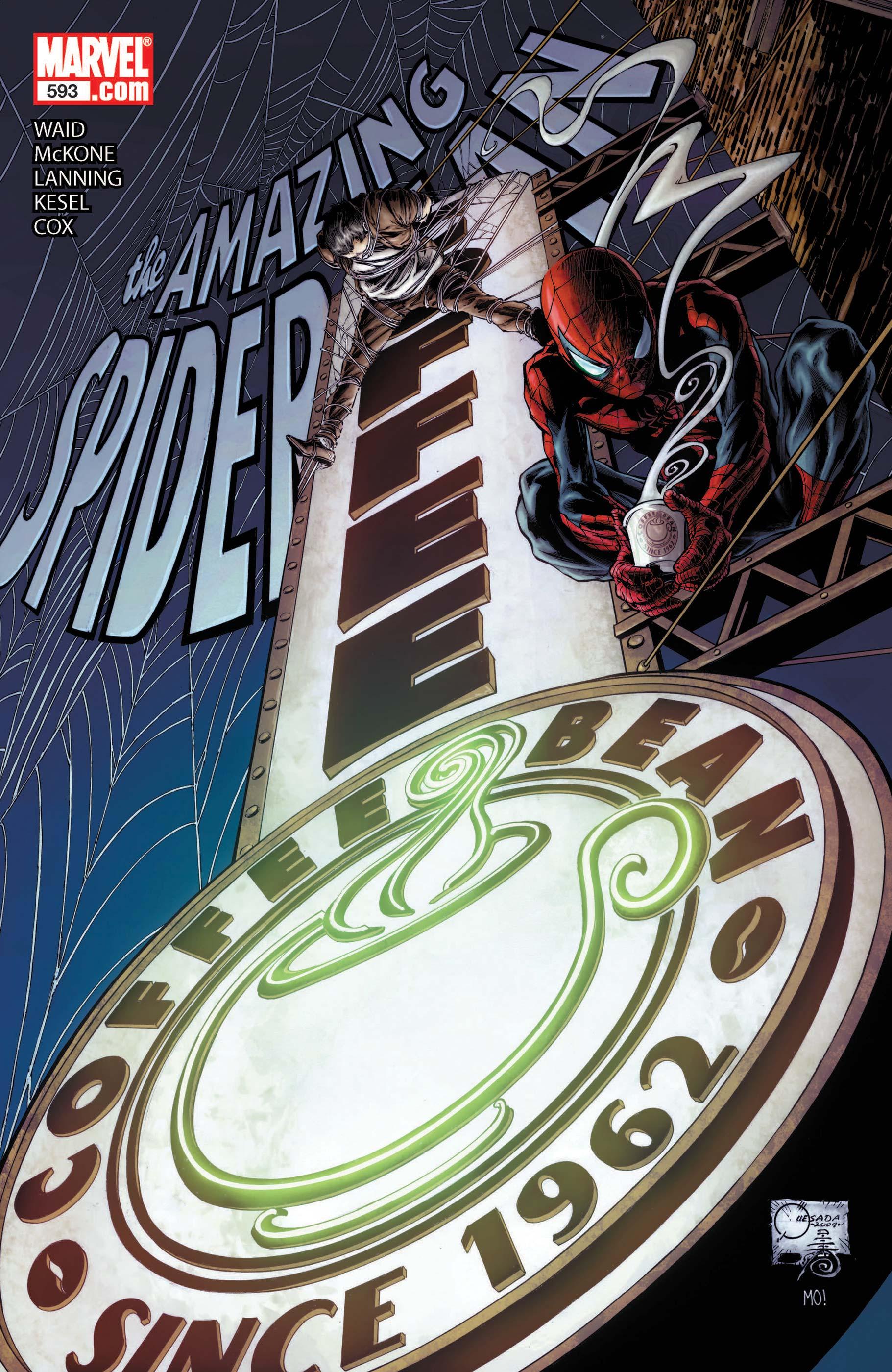 Amazing Spider-Man (1999) #593
