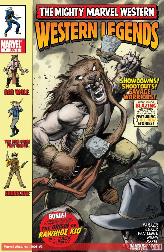 Marvel Westerns (2006) #5