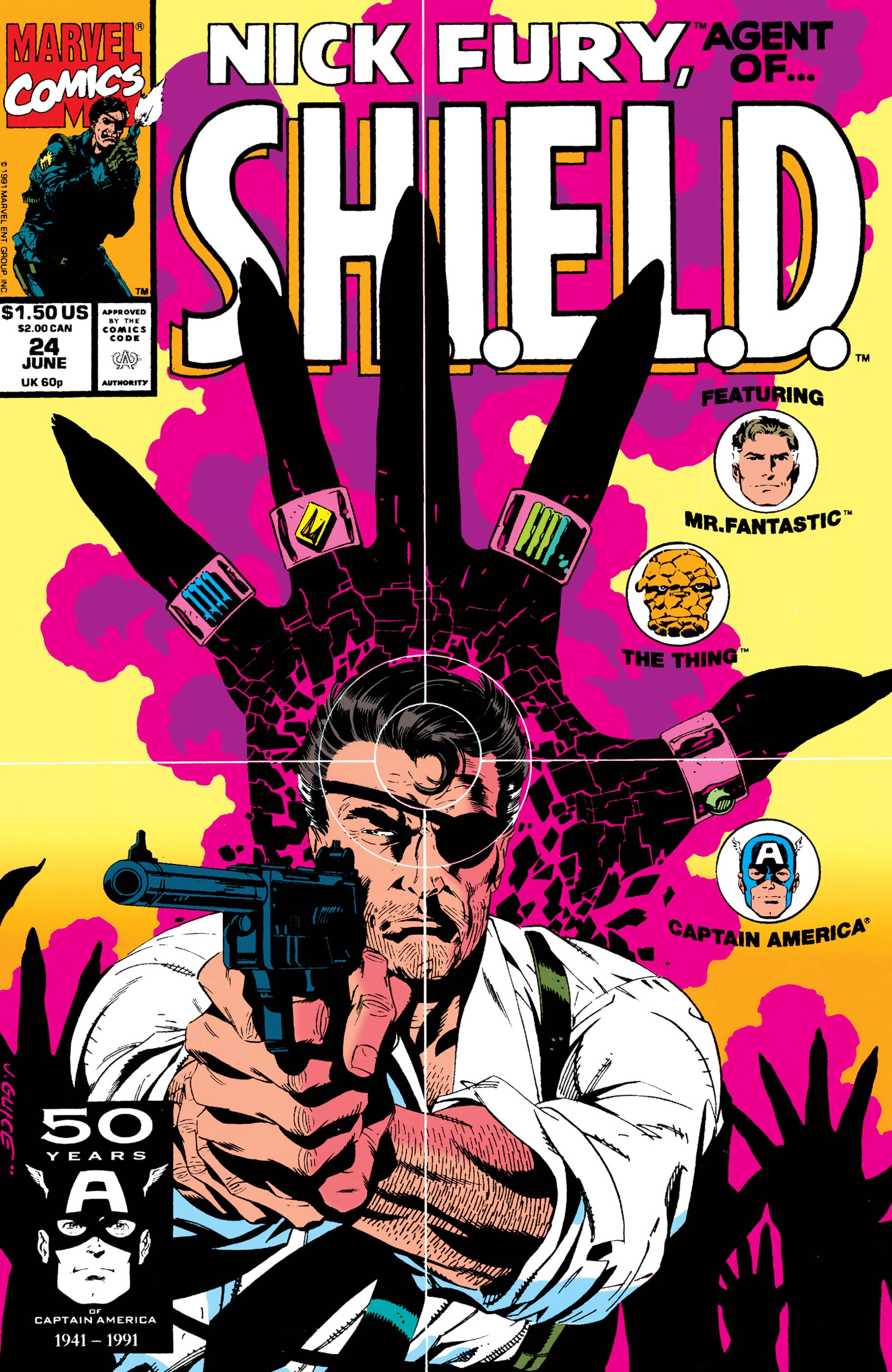 Nick Fury, Agent of S.H.I.E.L.D. (1989) #24