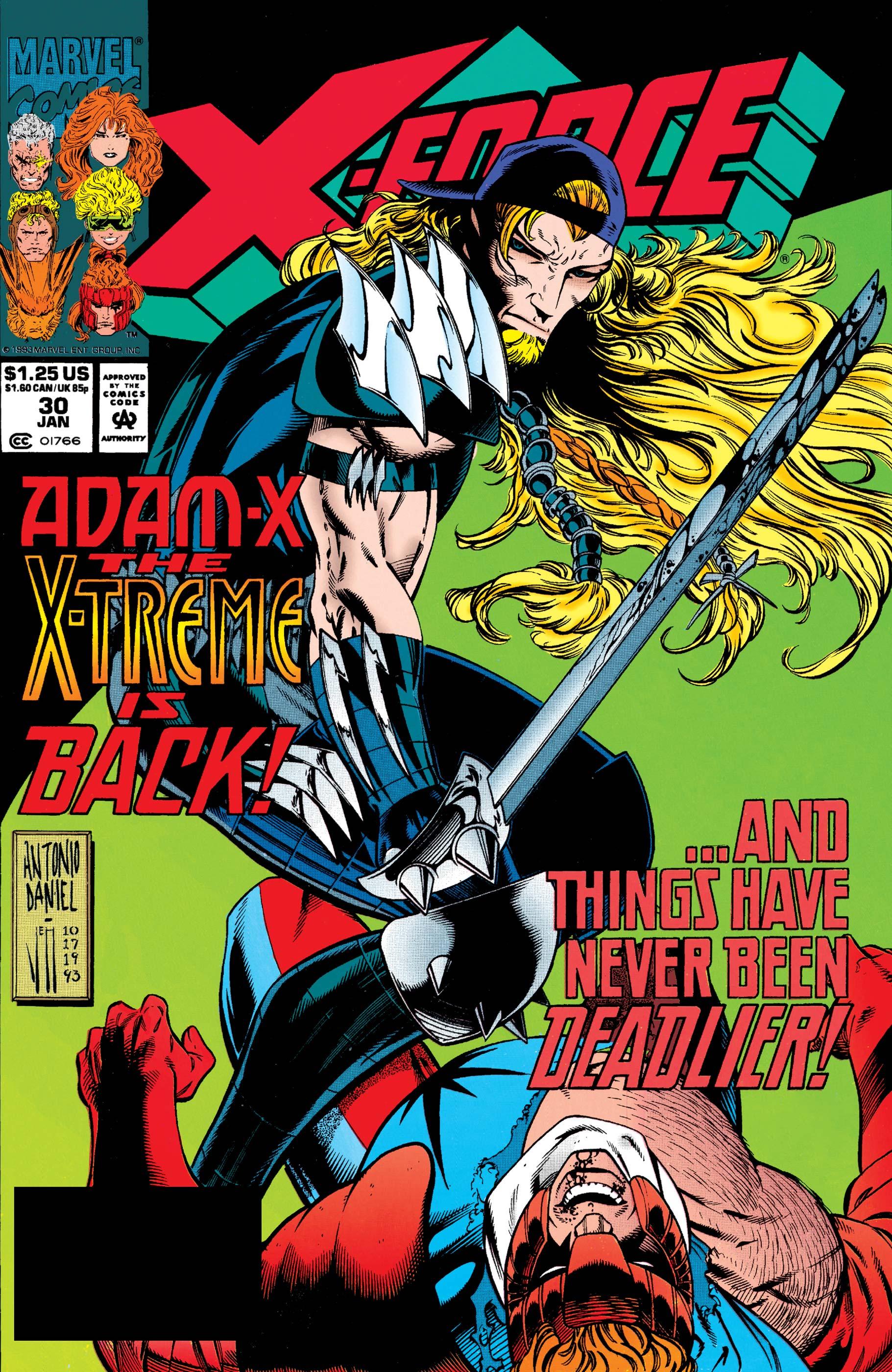X-Force (1991) #30