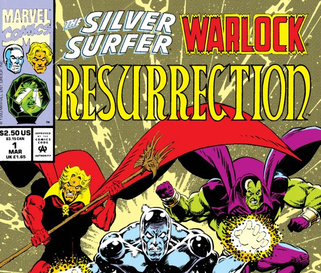 Silver Surfer/Warlock: Resurrection