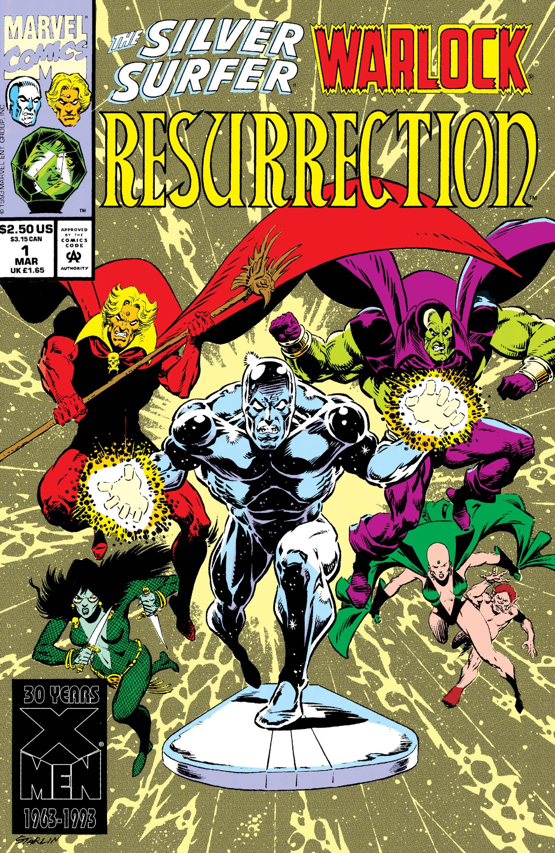 Silver Surfer/Warlock: Resurrection (1993) #1