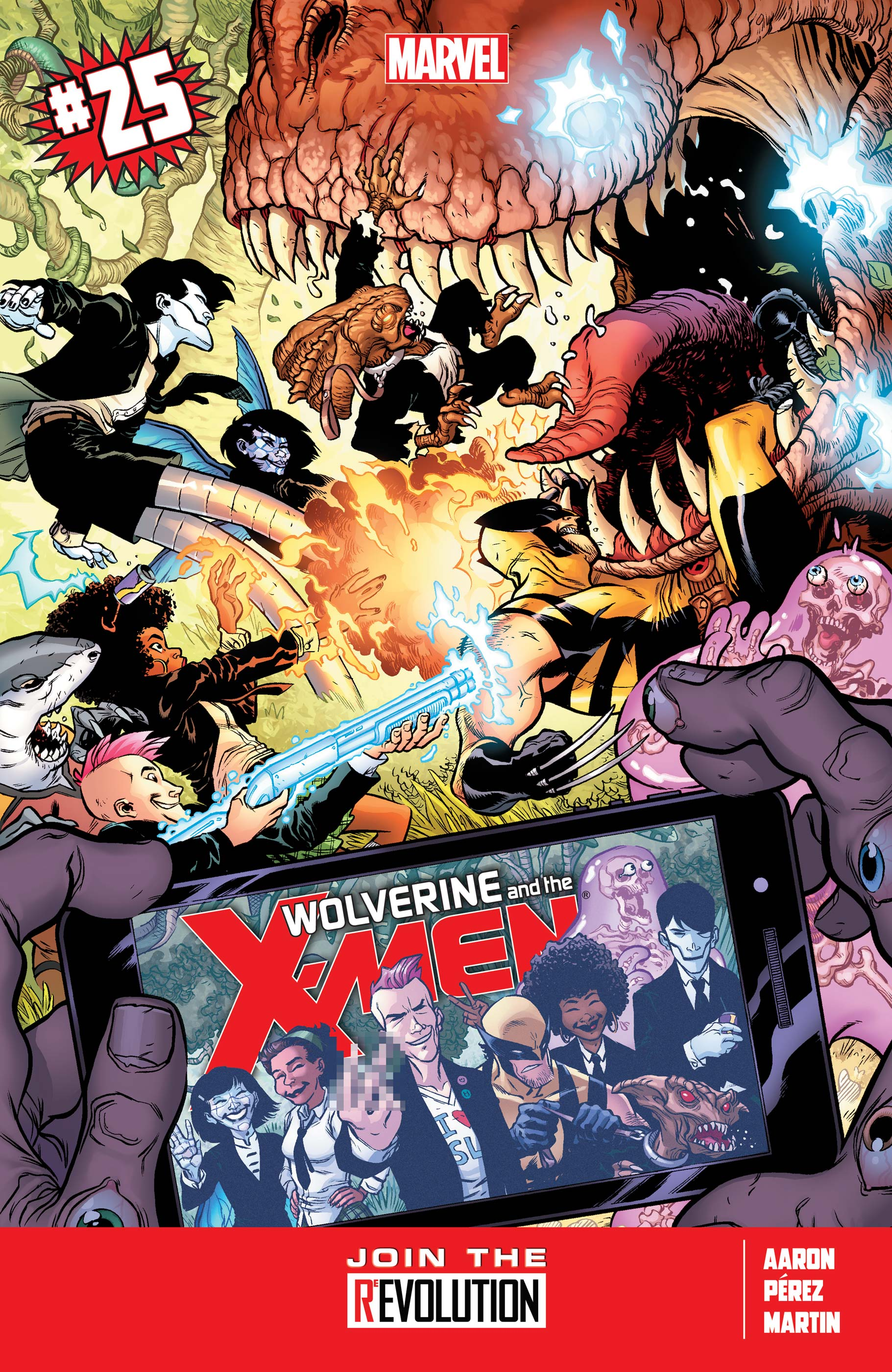 Wolverine & the X-Men (2011) #25