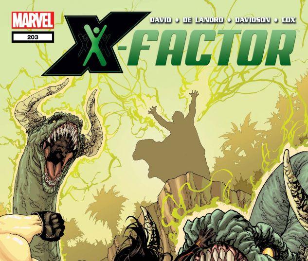 X-FACTOR (2005) #203