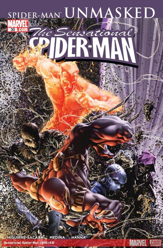 Sensational Spider-Man (2006) #30