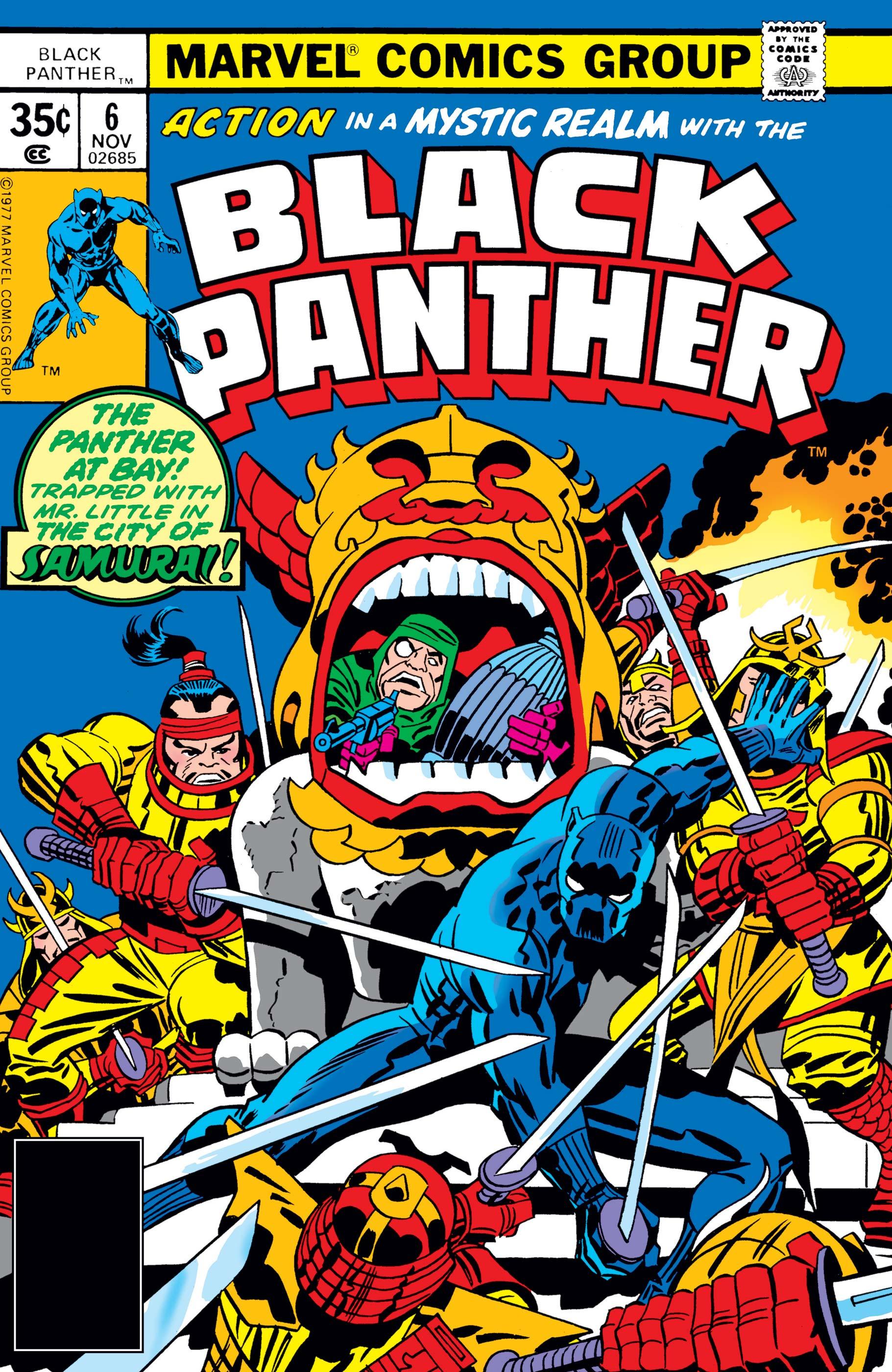 Black Panther (1977) #6