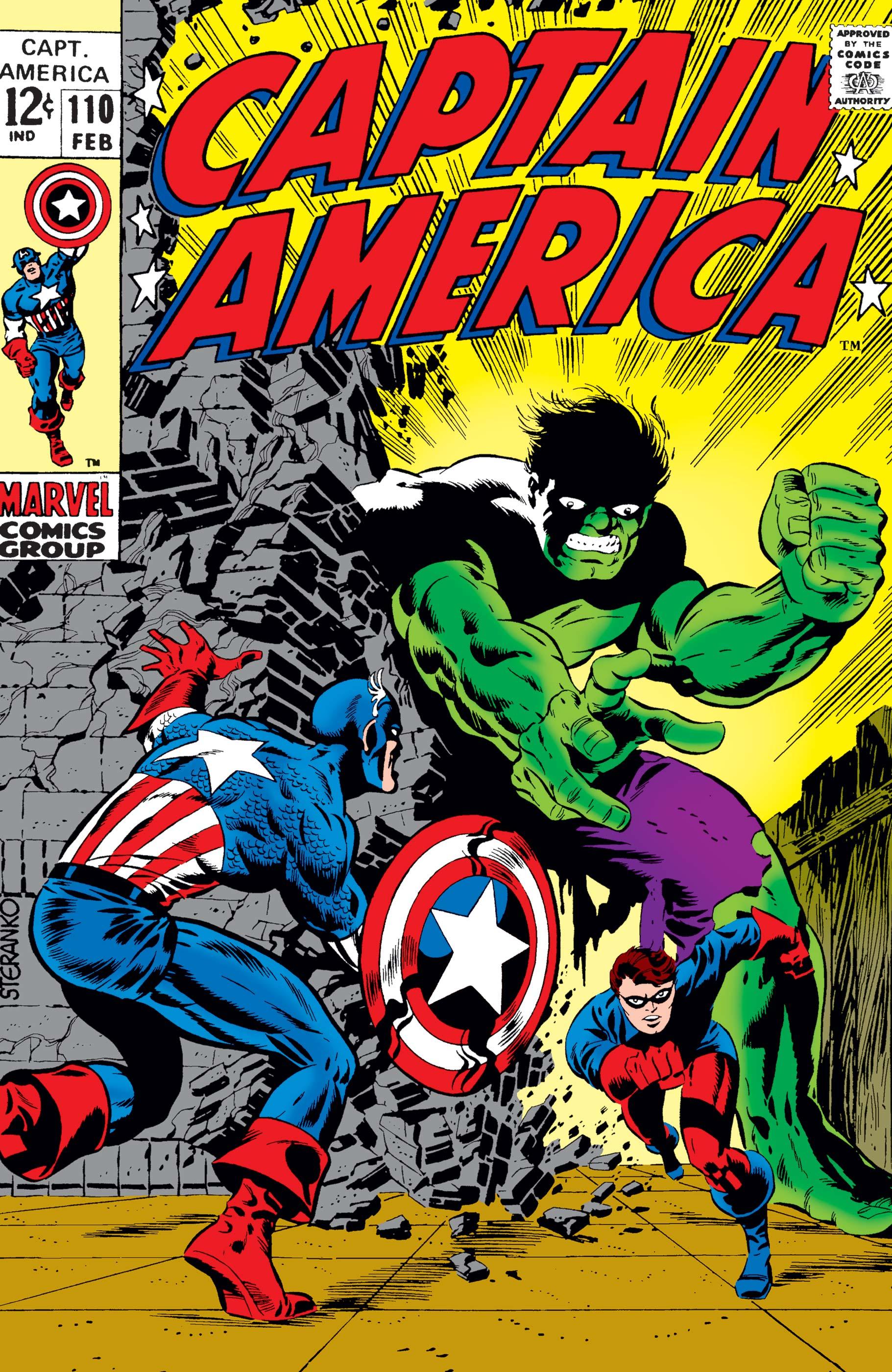 Captain America (1968) #110