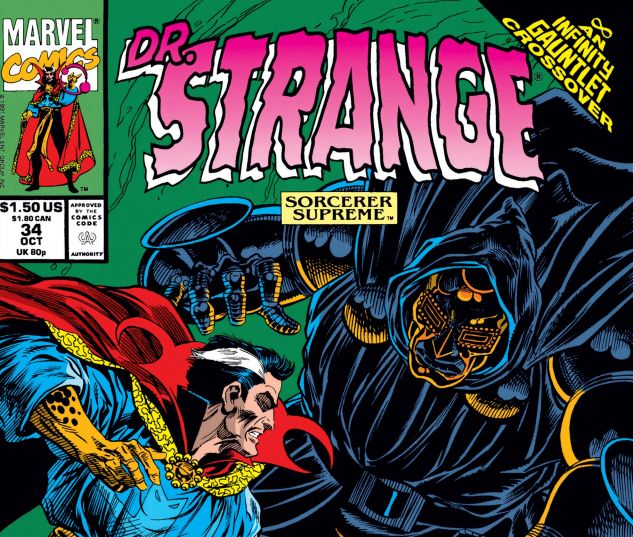 Cover for Doctor Strange, Sorcerer Supreme 34
