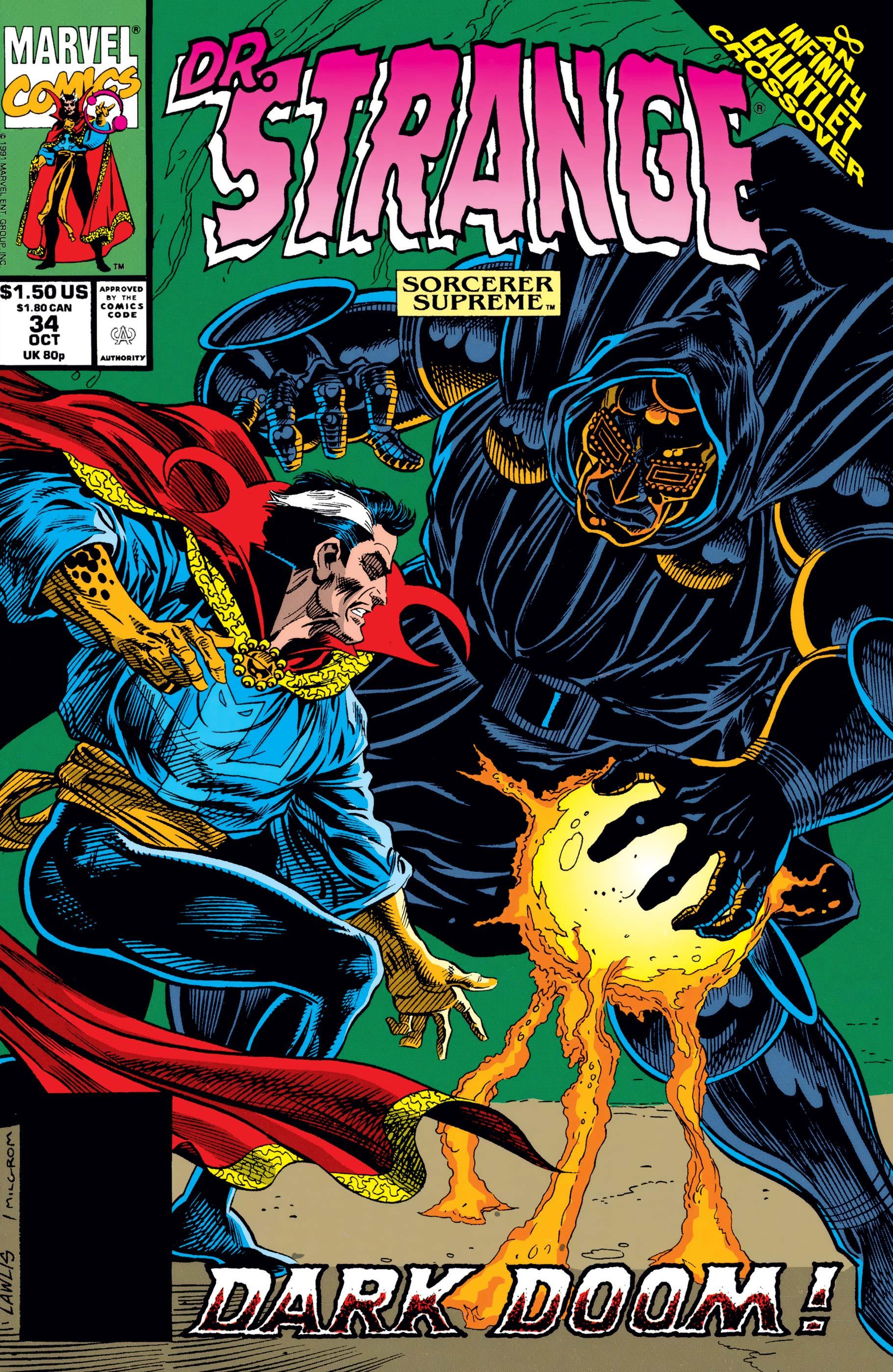 Doctor Strange, Sorcerer Supreme (1988) #34
