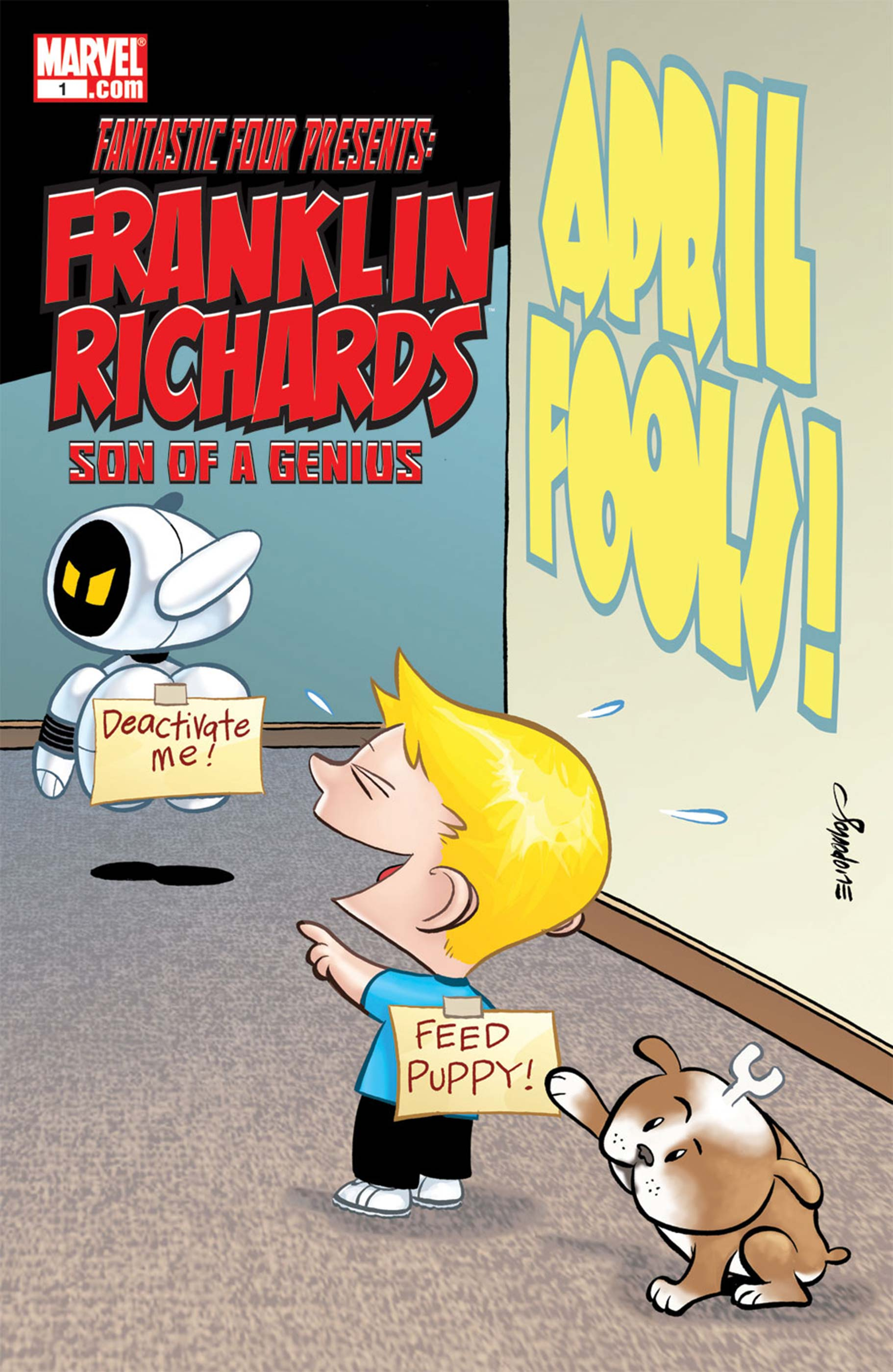 Franklin Richards: April Fools! (2009) #1