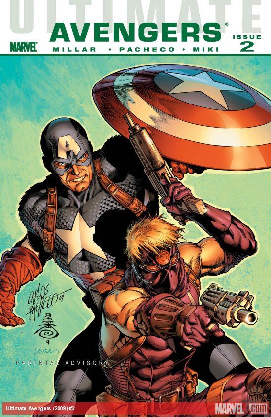 Ultimate Comics Avengers (2009) #2