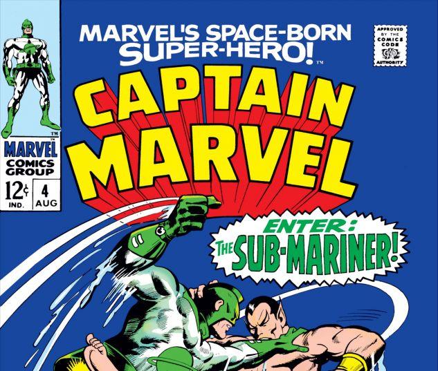 CAPTAIN MARVEL (1968) #4