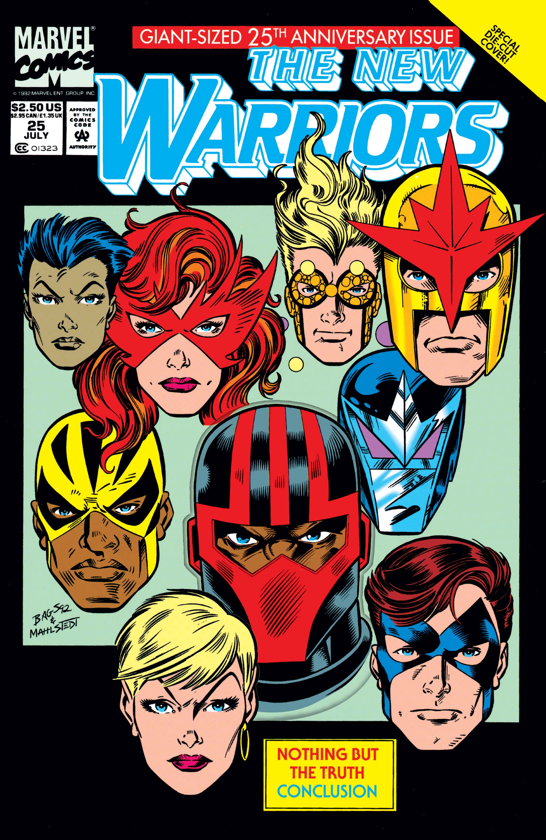 New Warriors (1990) #25