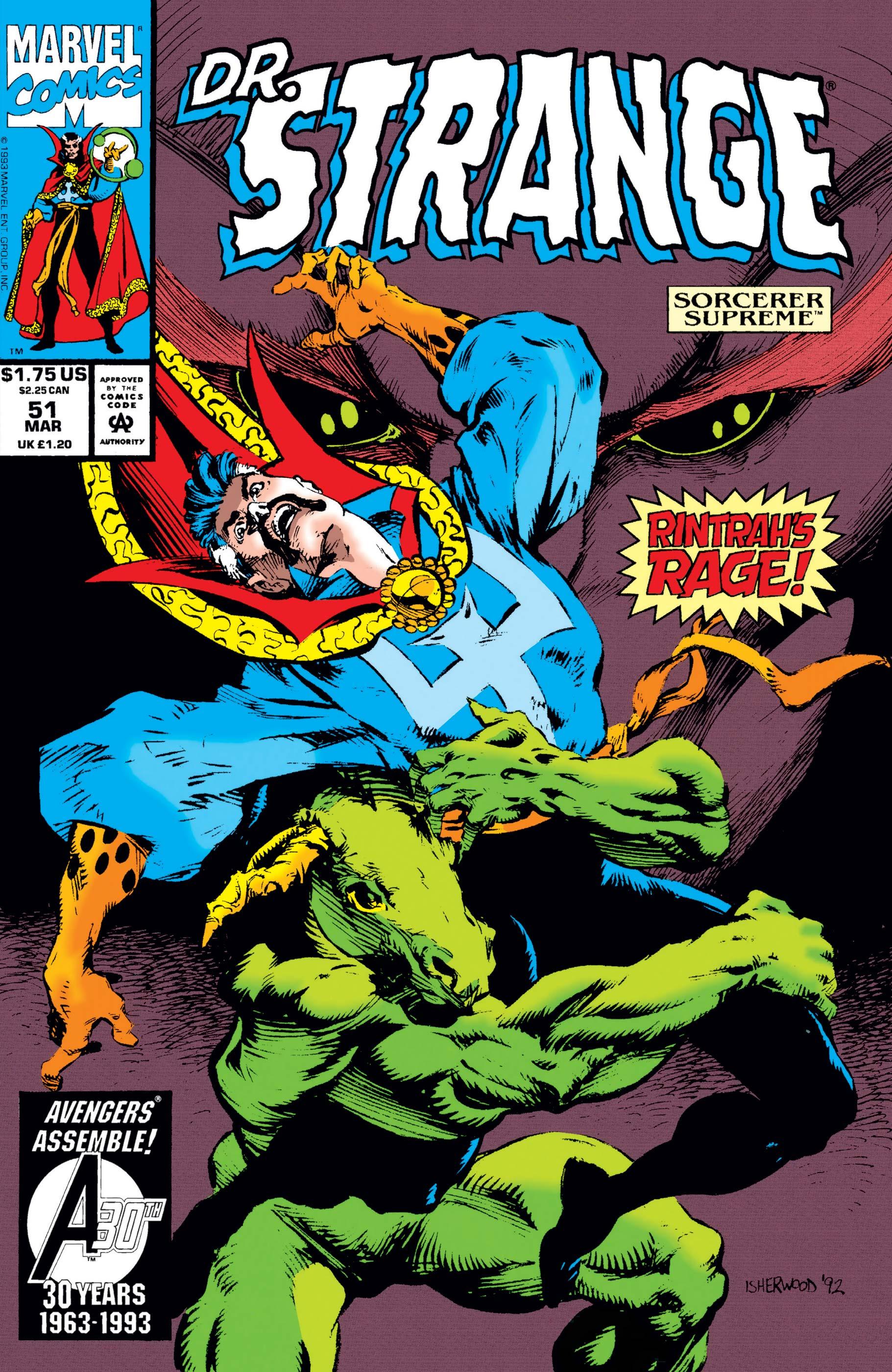 Doctor Strange, Sorcerer Supreme (1988) #51