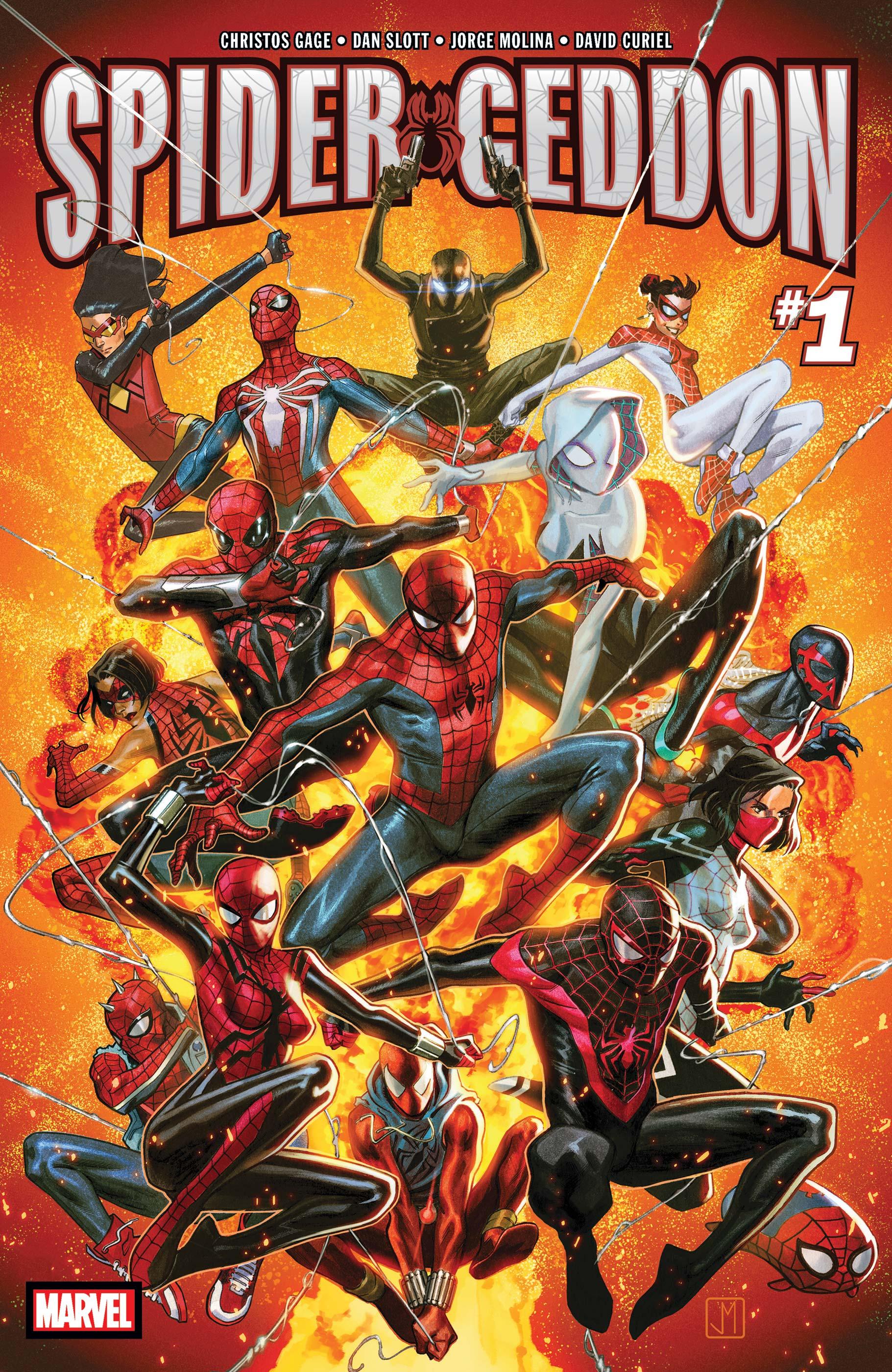 Spider-Geddon (2018) #1