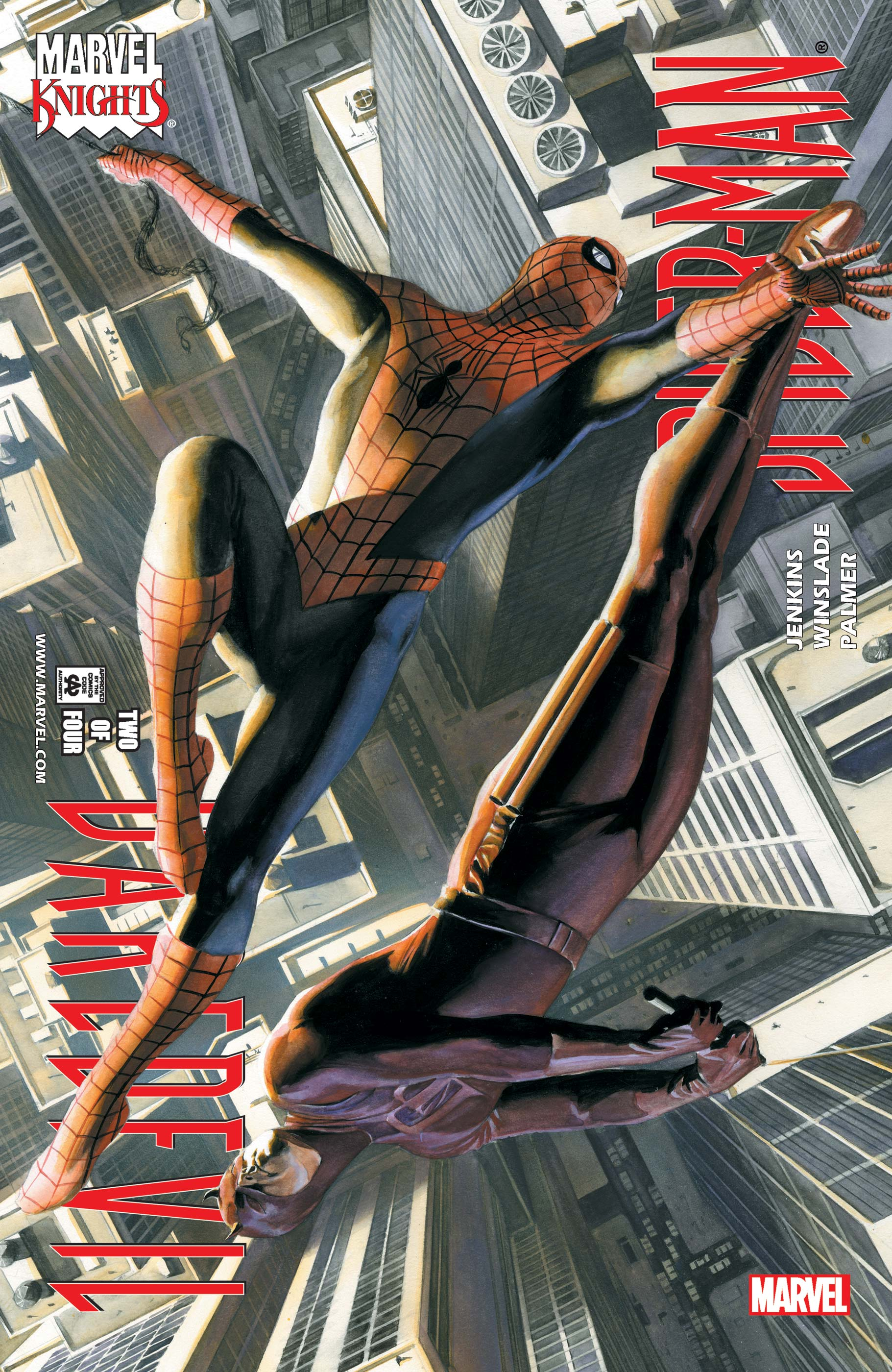 Daredevil/Spider-Man (2001) #2