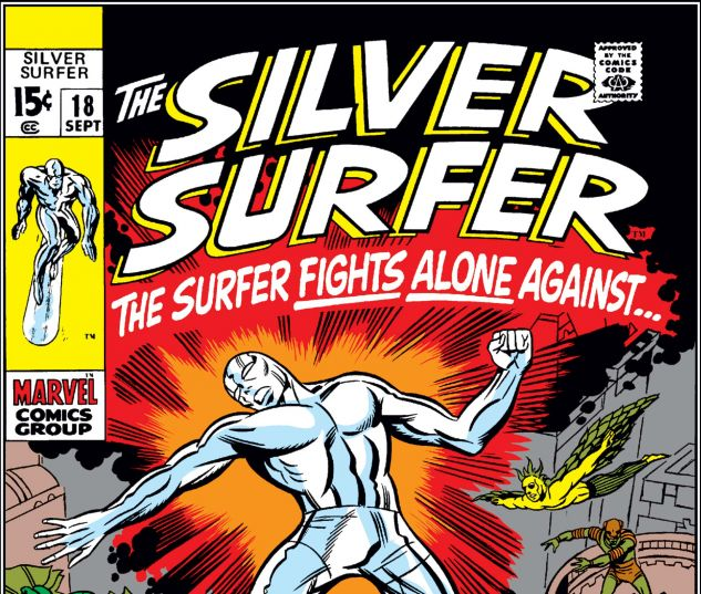 SILVER SURFER (1968) #18