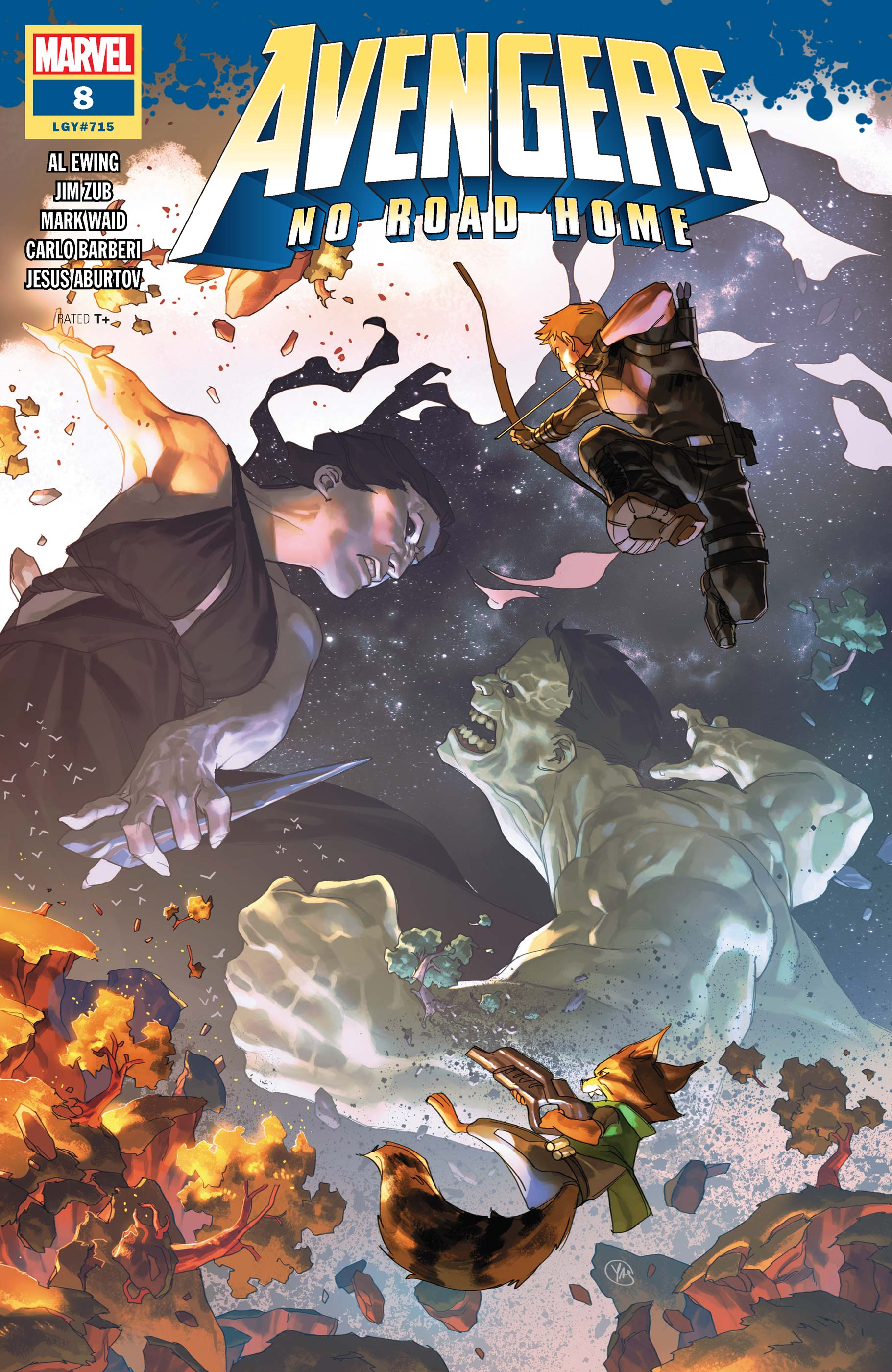 Avengers No Road Home (2019) #8