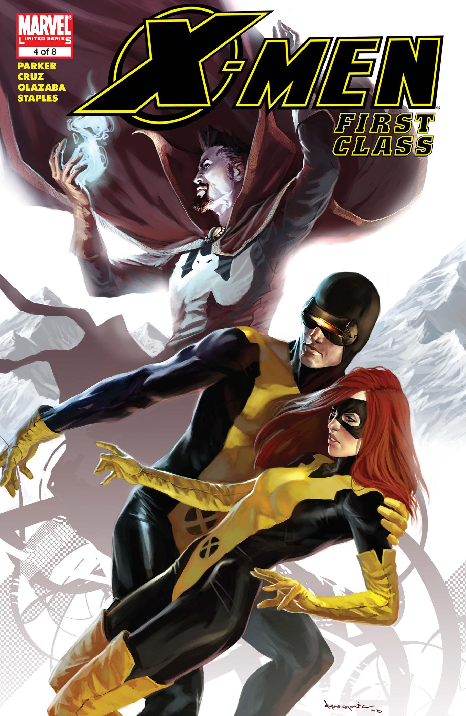 X-Men: First Class (2006) #4