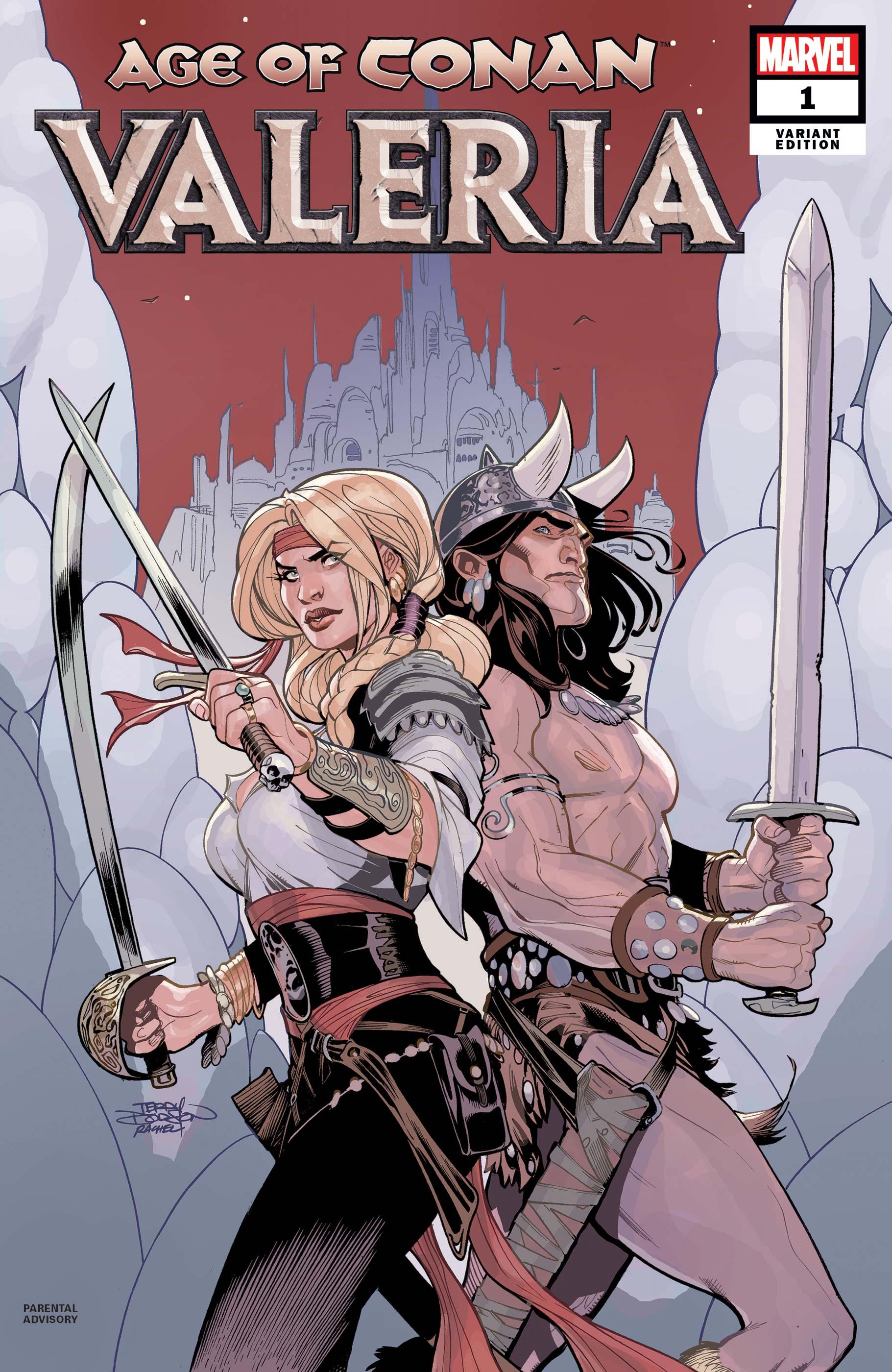 Age of Conan: Valeria (2019) #1 (Variant)