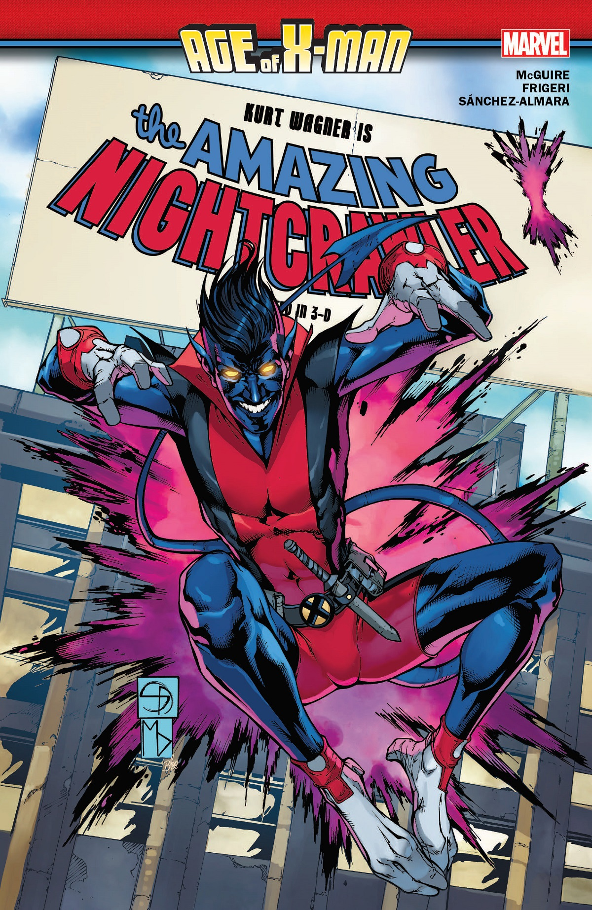 Age Of X-Man: The Amazing Nightcrawler (Trade Paperback)