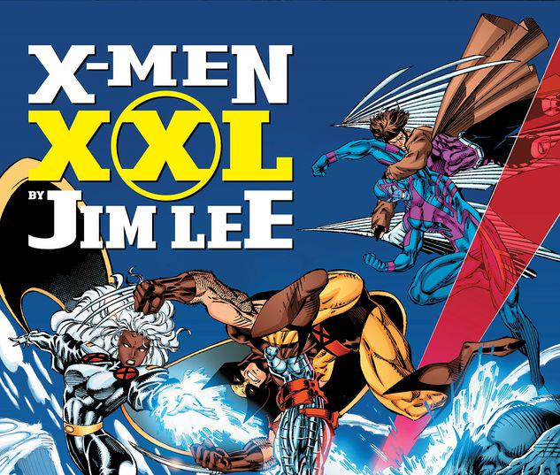 X-MEN XXL BY JIM LEE HC #1