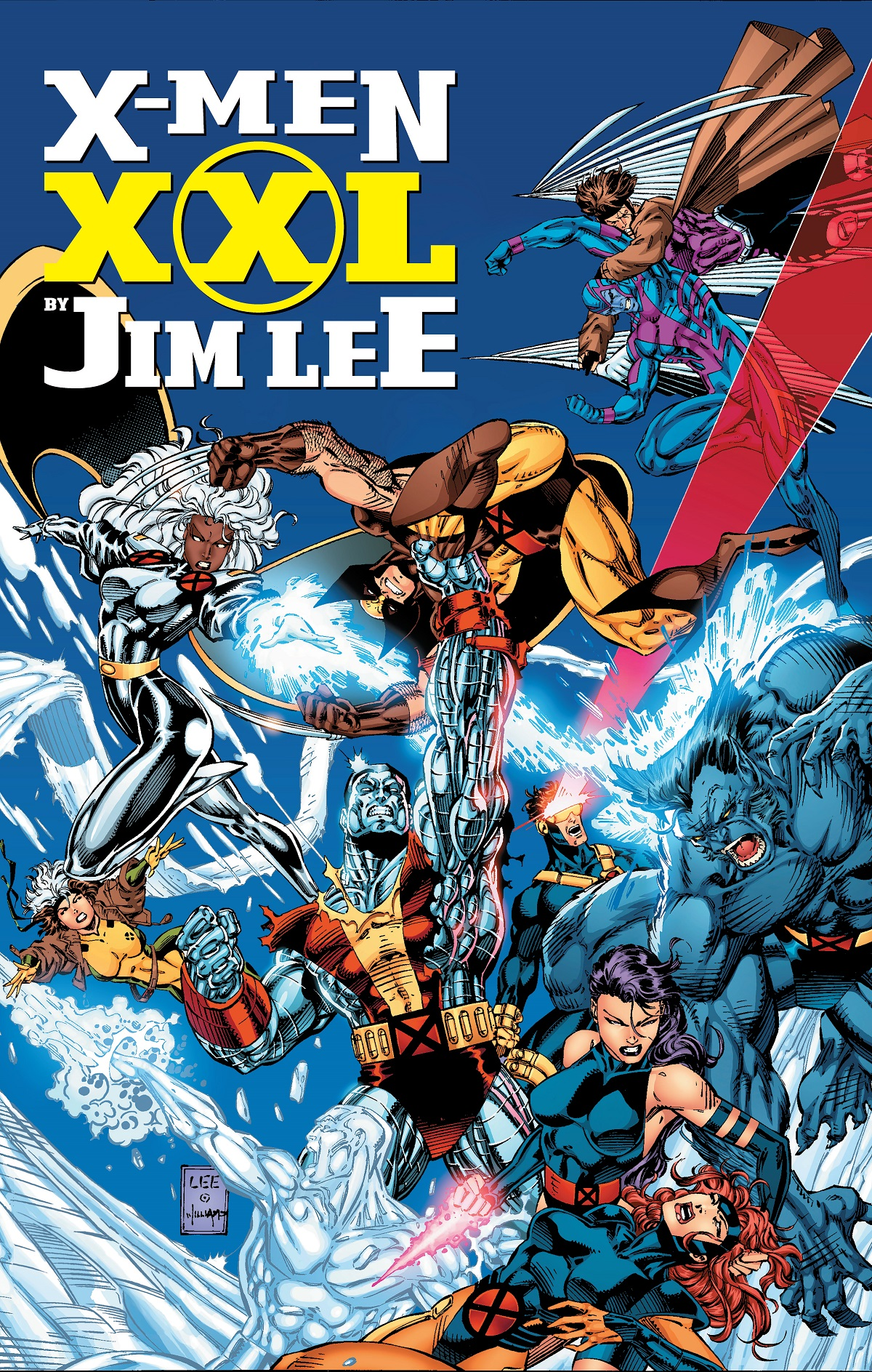 X-Men XXL By Jim Lee (Hardcover)