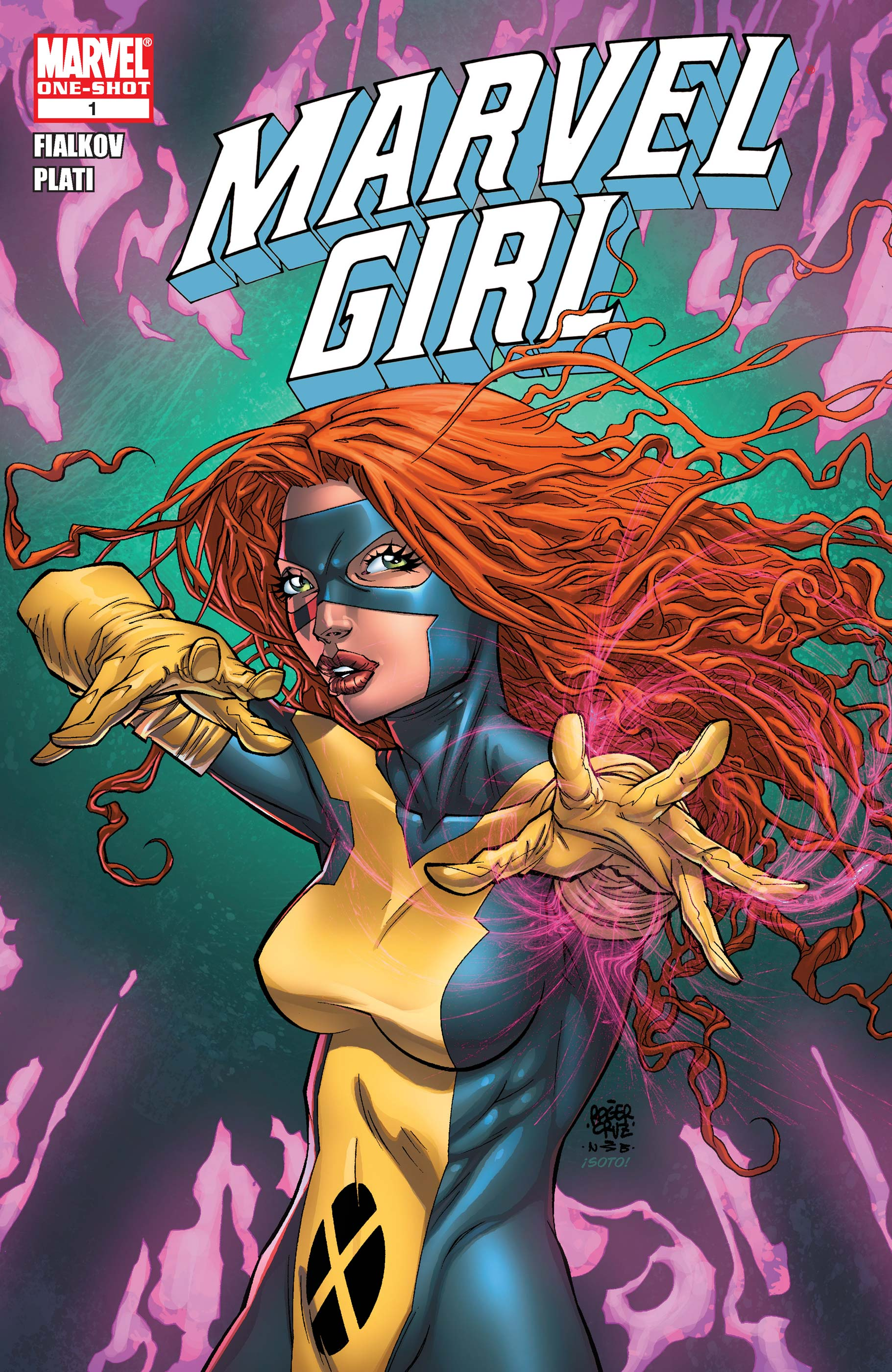 Marvel Girl (2010) #1