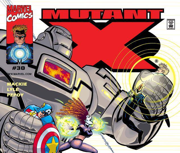 Mutant X #30