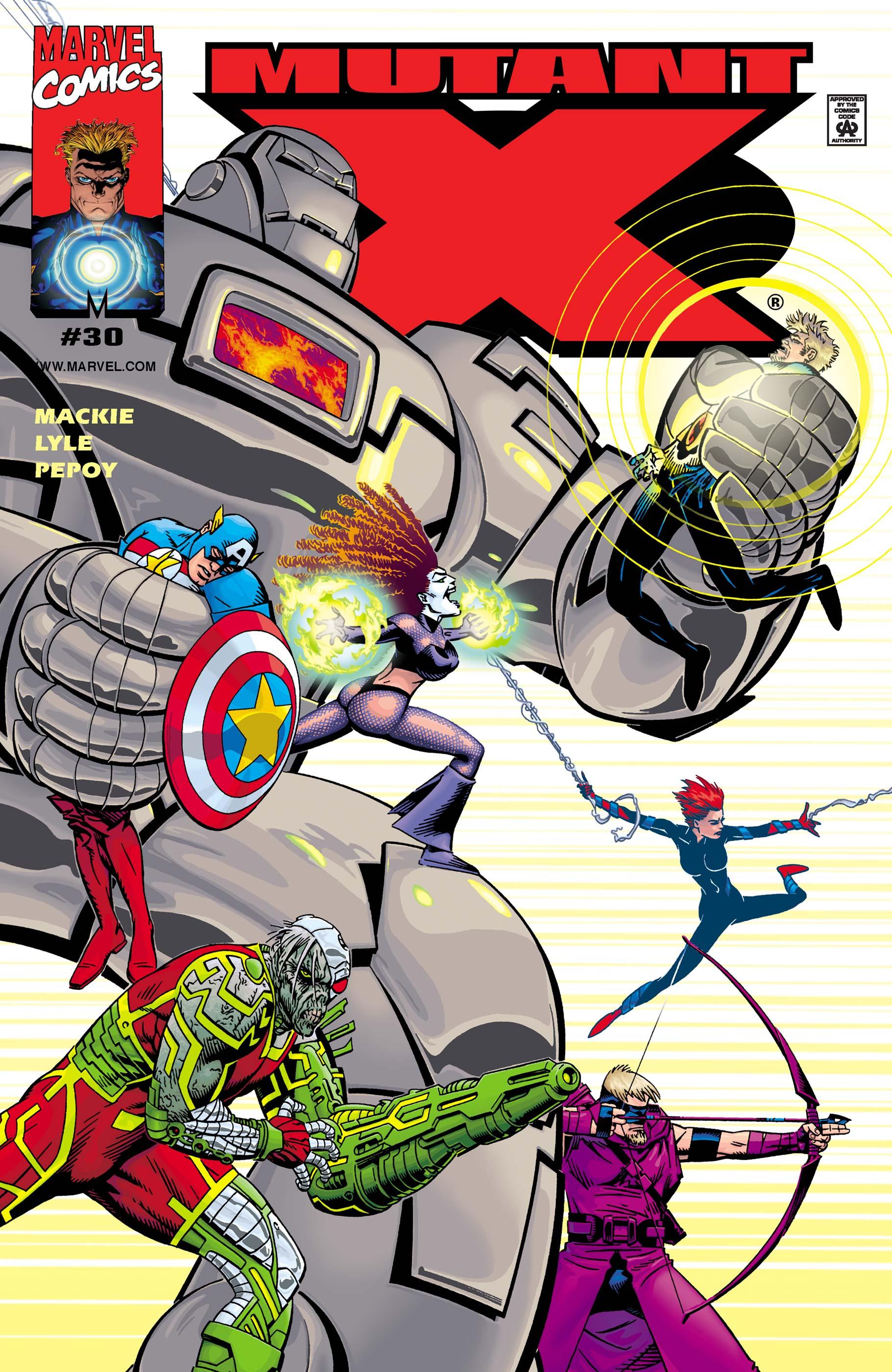 Mutant X (1998) #30